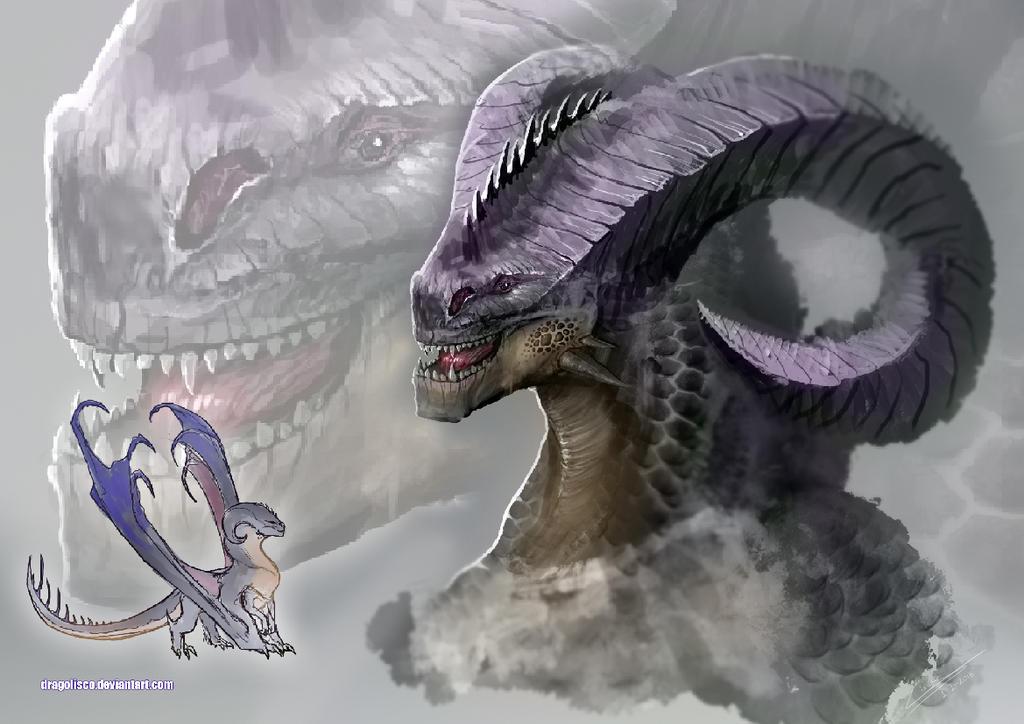Dragon concept by Dragolisco