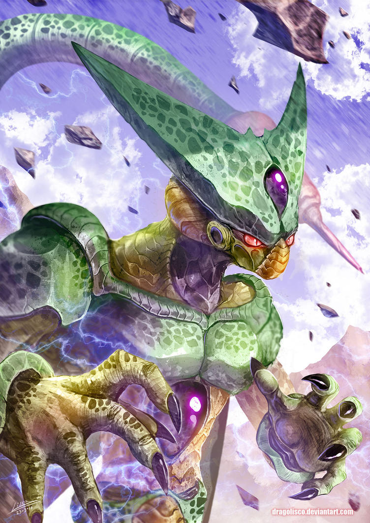 Imperfect Cell By Dragolisco On Deviantart