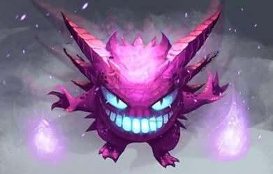 Lavender Team: Gengar