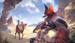 Sphinx Dragon by Dragolisco