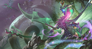 Ysera and the Green Dragonflight by Dragolisco