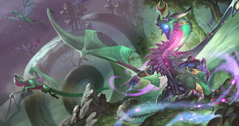 Ysera and the Green Dragonflight