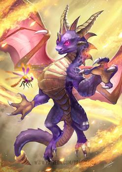 Spyro the Dragon King by Dragolisco