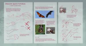 Dragon TUTORIAL: Wings by Dragolisco
