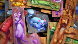 The Isle of Cats board game!