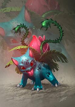 Flowering Ivysaur