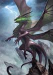 Four wings dragon