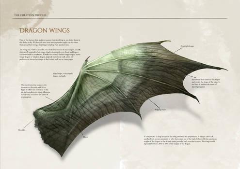 Dragon artbook sample page