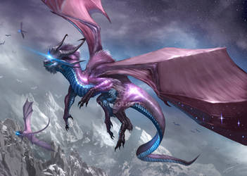 Astral Dragon (Commission)