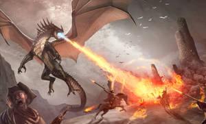Dragon raiders (remake art)