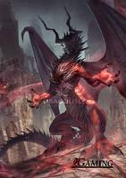Dracofiend (commission)