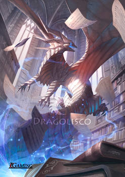 Paper dragon (commission)