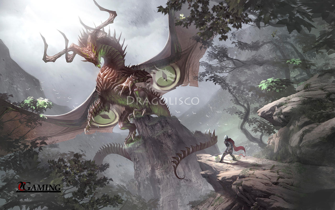 Primordial dragon (commission)