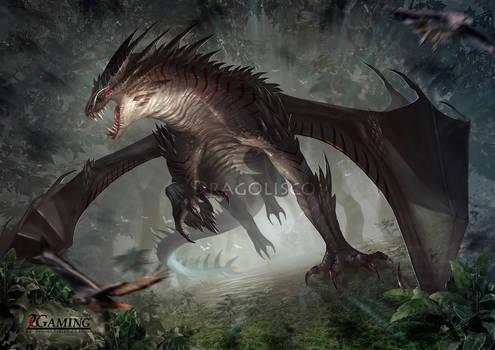 Predator dragon (commission)