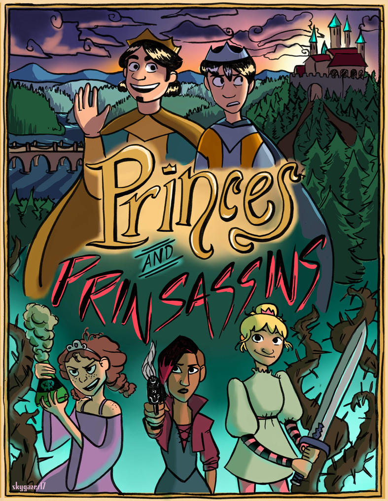 Princes and Prinsassins Cover by skygazer17