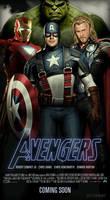 Avengers Movie Poster 1.4 by ALilZeker