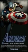 Avengers - Captain America by ALilZeker