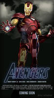 Avengers - Iron Man by ALilZeker
