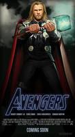 Avengers - Thor by ALilZeker