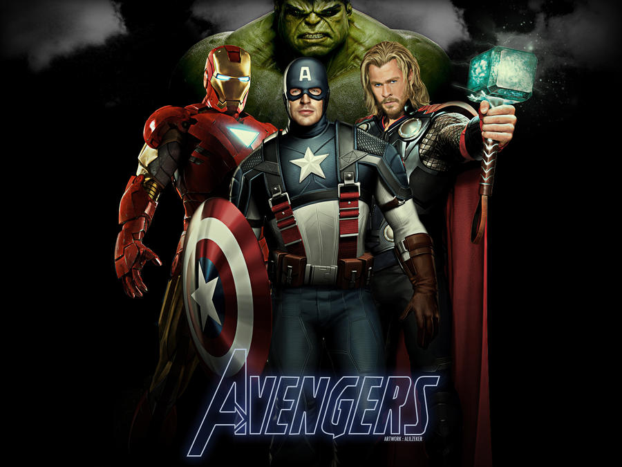 Avengers - Wallpaper by ALilZeker