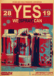 'YES WE +SPRAY+ CAN' - Flyer
