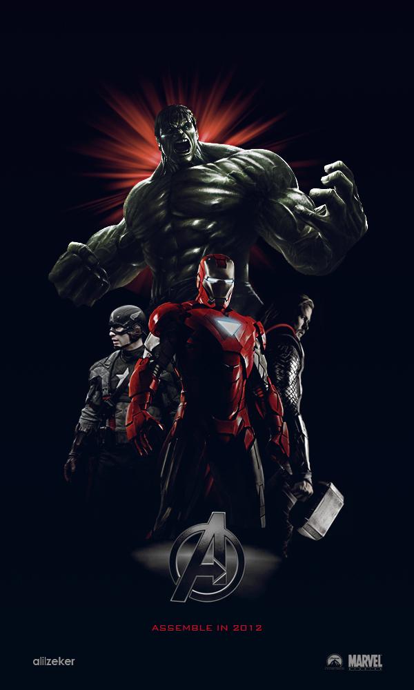 [Galerie] Zekbook - Page 19 Avengers_movie_poster_3_0_by_alilzeker-d37edwy