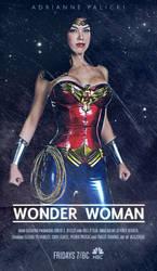 Wonder Woman Promo Poster by ALilZeker