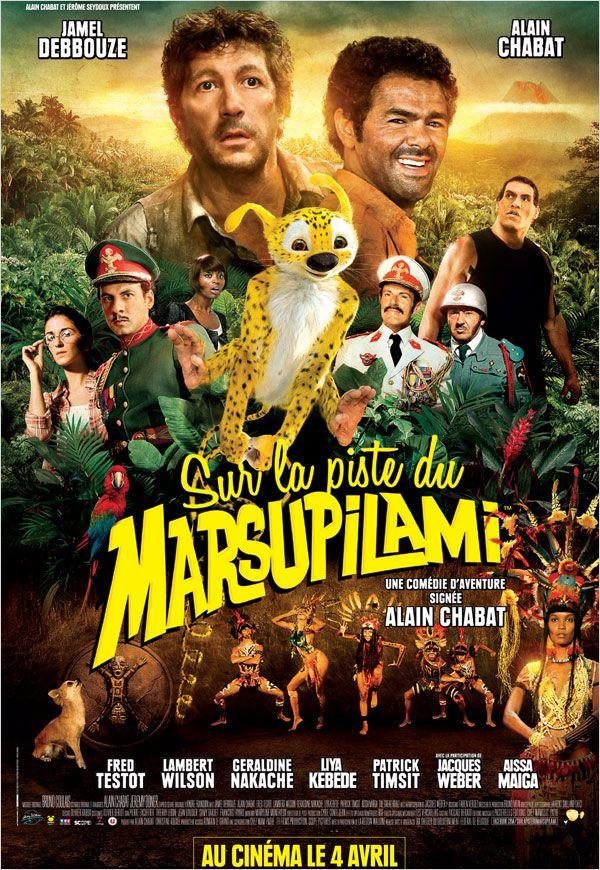 SUR LA PISTE DU MARSUPILAMI - Official Poster by ALilZeker