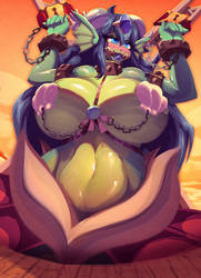Giga Mermaid by Riendonut