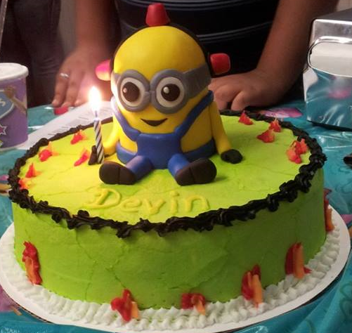 The birthday cake my brother by MinionsFans on DeviantArt