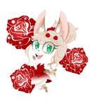 COMM (1/2): Petite Peony by BAD-pink