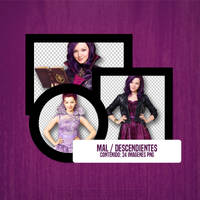 Pack PNG de Mal (Descendientes) by Fernanda1802