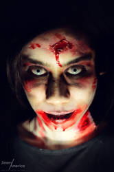 Zombie Make-up Tutorial by JimmyAmericaPhoto