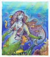 Mermaid by Rebbeka-Sun