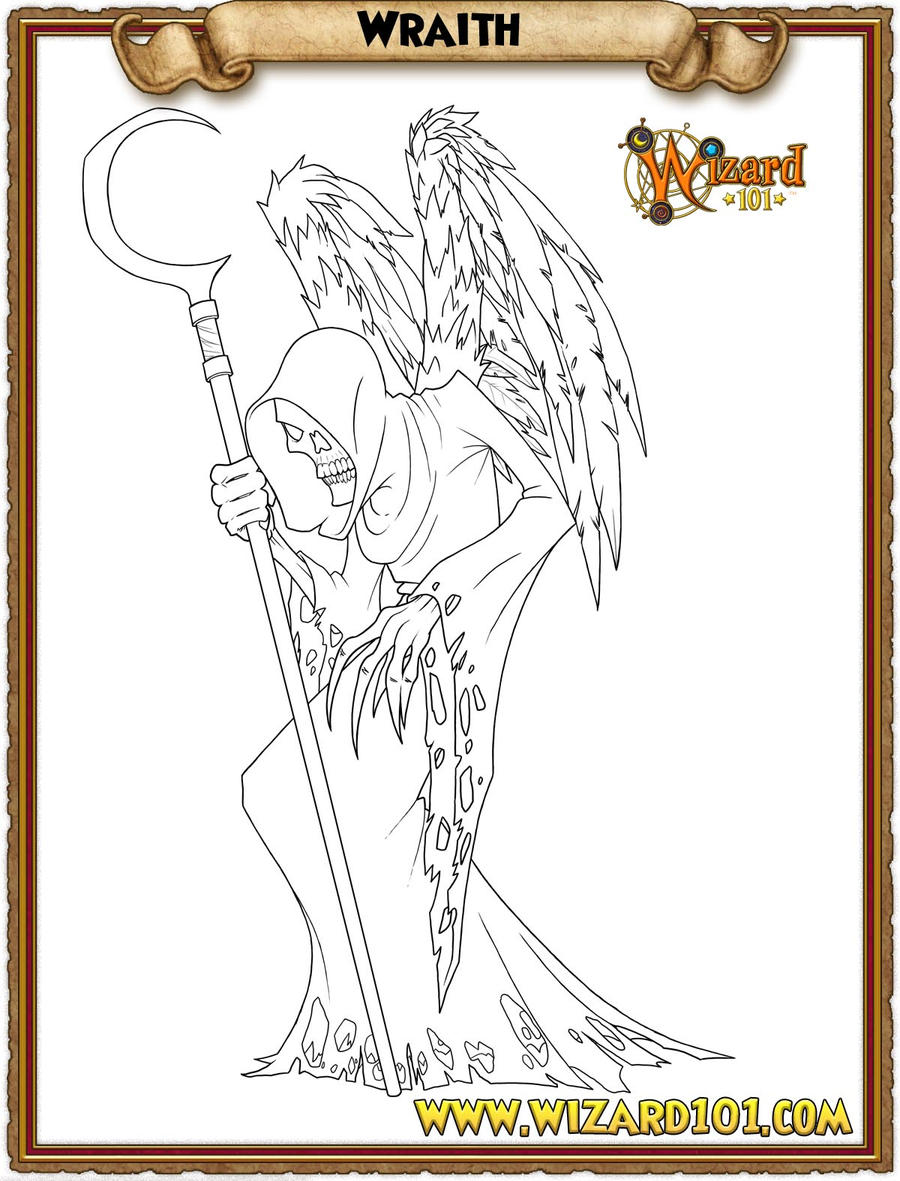 wizard101 printable coloring pages - photo#6
