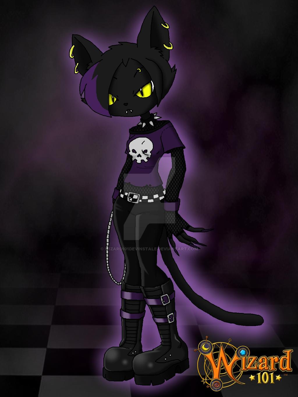 Cat Themed Magical Girl