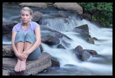 Waterfall 2 by Mordecai36