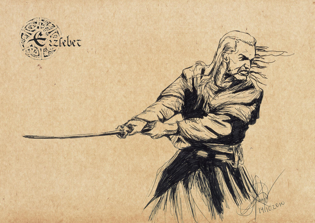 The taste of Witcher's blade