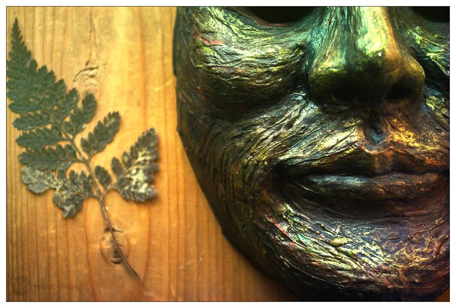 'Forest God' mask by erzsebet-beast