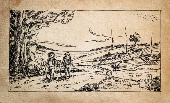 Hobbits leaving home