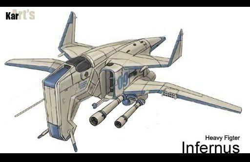 Heavy Support Figter Infernus by KaranaK