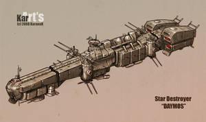 Star Destroyer Daymos by KaranaK