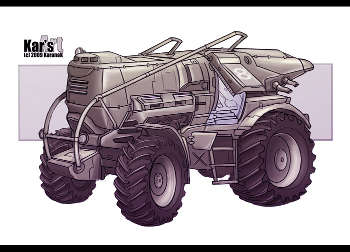 Behemoth Machine by KaranaK