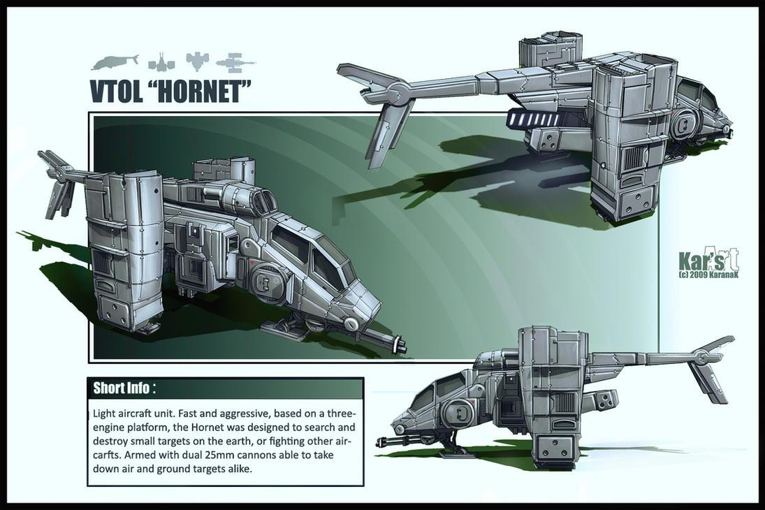 VTOL Hover Hornet by KaranaK