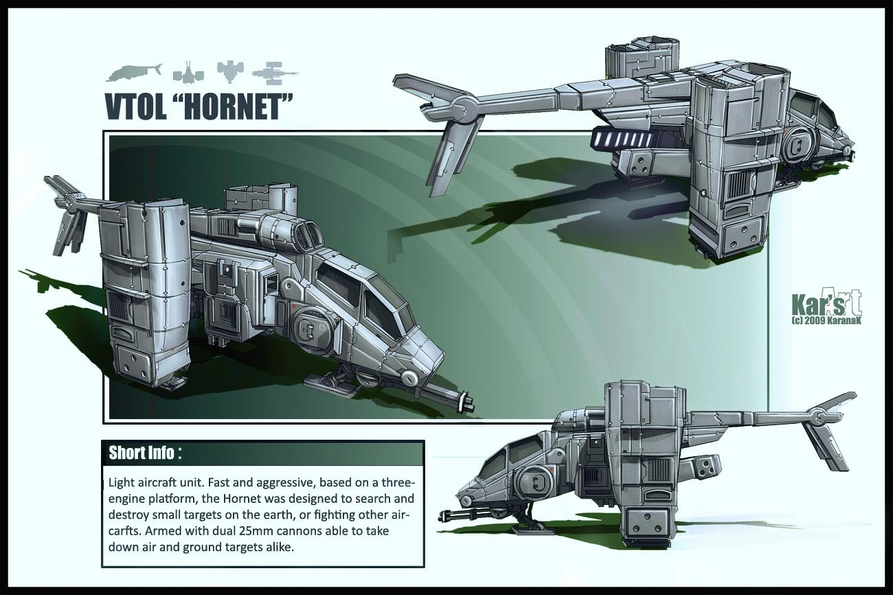 VTOL Hover Hornet