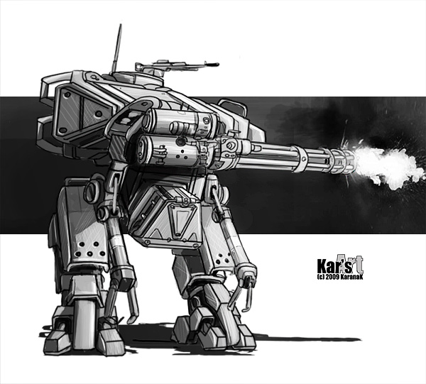 Assault Mech by KaranaK