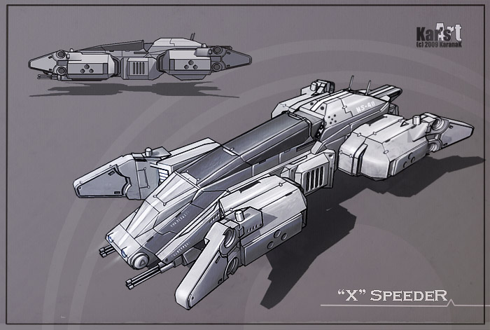 X Speeder by KaranaK