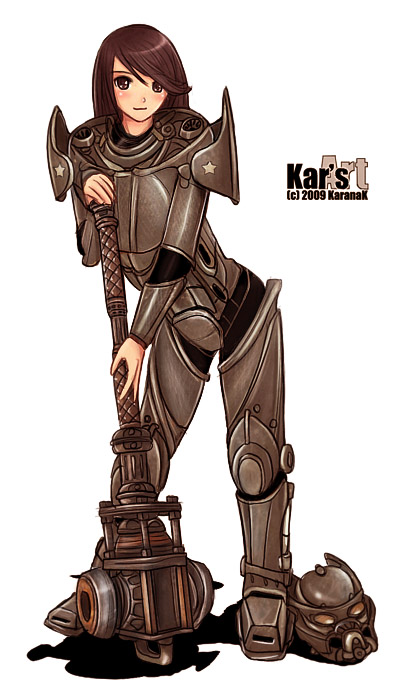 Enclave Girl by KaranaK on DeviantArt