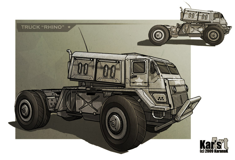 Truck Rhino by KaranaK