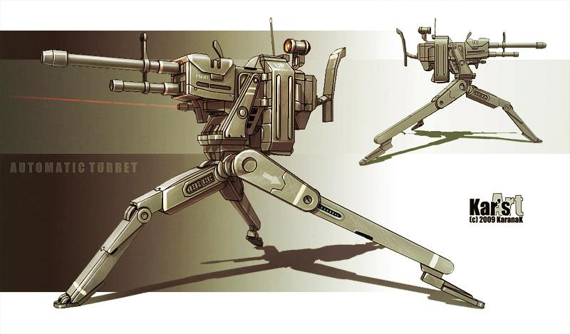 Automatic Turret by KaranaK